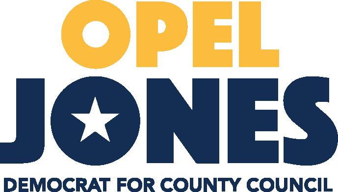Opel Jones, Democrat for County Council